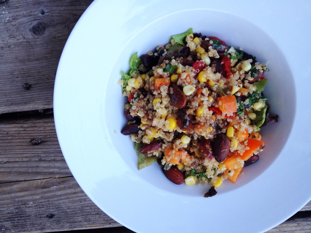 super powered super protein quinoa salad 1 cup dry quinoa 1 3 4 cups ...