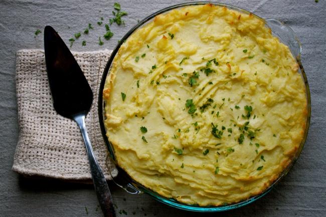 Classic Vegan Shepherd's Pie | IPOM